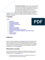 Metodología del proceso enseñanza