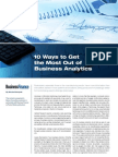 10 Ways to Get the Most Out of Business Analytics 0