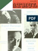 Revista Teatrul, nr. 6, anul XVIII, iunie 1973