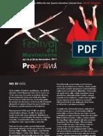 Programa XXFestival Del Movimiento