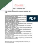 LAS RAÍCES PSÍQUICAS Y SOCIALES DEL ODIO, Cornelius Castoriadis