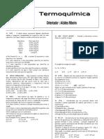 II Lista Geral de Termoquímica