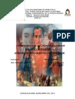 Informe Traslado de Los Restos de Bolivar y Ultimos Descubrimientos de Su Muerte