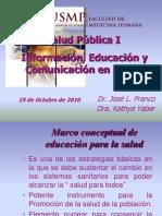 Educacion y Comunicacion en Salud