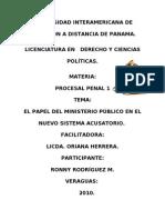 El_papel Del Mp en Proceso Penal (1)