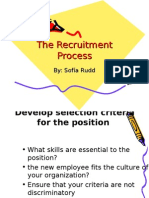 Copy of BUSINESS the Recruitment Process SRUDD