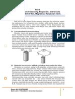 dasar listrik dan sifat magnet