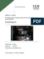 ENEL427 - Final Report - Pnr22 - Tesla Coil
