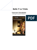 Kawata, Yasunari - Lo Bello Y Lo Triste
