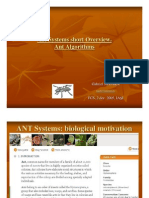 Ant Systems Overview