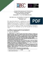 Informe Red Mexicana de Estudios de Espacios y Cultura Funerarios A.C. 2011
