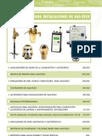 COMPONENTES PARA INSTALACIONES DE GAS-ÓLEO