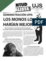 Los monos lo harían mejor, Boletín #7, Noviembre 2011
