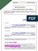 modelo de contrato construção civil - sinduscon rio