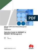OG for MA5600T or MA5603T NE Management-(V100R002C01_03)
