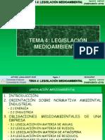 TEMA4 LEGISLACIÓN MEDIOAMBIENTAL 2011