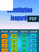 Constitution Jeopardy