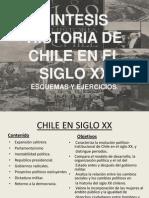 Sintesis Historia de Chile en El Siglo Xx