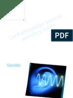 diapositivas Contaminación sonora