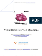 Visual Basic Interview Questions