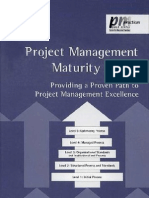 Project Management Maturity Model
