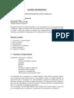 PUC. Examen Neurológico