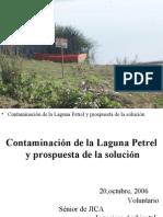 Contaminación de La Laguna y La Solución