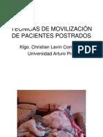 TÉCNICAS DE MOVILIZACIÓN DE PACIENTES POSTRADOS