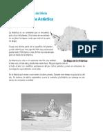 Antartica La Tierra de Hielo