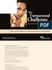 The Challenge Turnaround Supplement to the Main Report