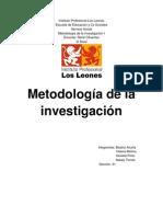 trabajo metodologia