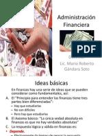 Administración Financiera-conceptos y formulas