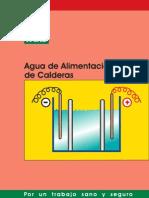Agua de Alimentacion de Calderas.. Manual de Seguridad Chileno