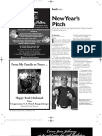 New Year's Pitch- Baltimore Jewish Times