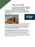 La nueva construcción sostenible