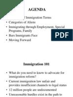Immigration Webinar Basics - Maricella