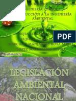LEGISLACIÓN AMBIENTAL NACIONAL Y LEYES DE CARACTER AMBIENTAL