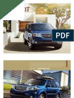 2012 Honda Pilot Brochure