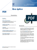 cable de F O PDR