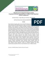 SimposiumNasionalSainsGeoinformasi2011-RBI untuk Validasi Toponimi-AjiPutraPerdana
