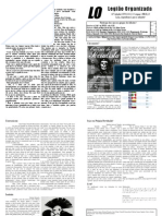 Quadragésima Prmeira Edição do Jornal da LO