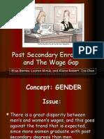 Presentation Wage Gap