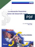 Educación Financiera en México