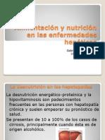 Alimentación y nutrición en las enfermedades hepáticas