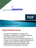 Espectro Electromagnetico y Partes Del Espectrofotometro