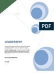 Leadership III
