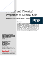 237225 Physical and Chemical Properties of Mineral Oils