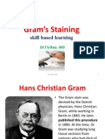 Gram Staining Skill Based Learning