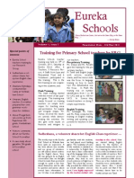 Eureka School October Newsletter