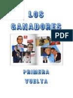 Guatemala Elecciones 2011:Ganadores de La Primera Vuelta